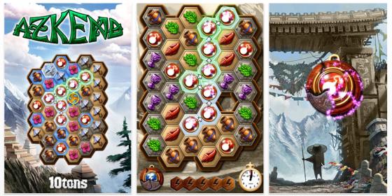Azkend ist eines der besseren Match3-Spiele im App-Store. Seine hochwertige Ausstattung und 70 Level machen es in Verbindung mit der entspannenden Musik zum Top-Tipp für Freunde des Spiel-Genres.