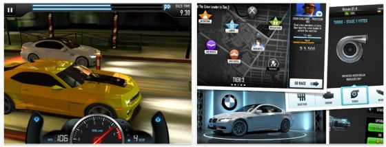 CSR Racing für iPhone, iPod Touch und iPad