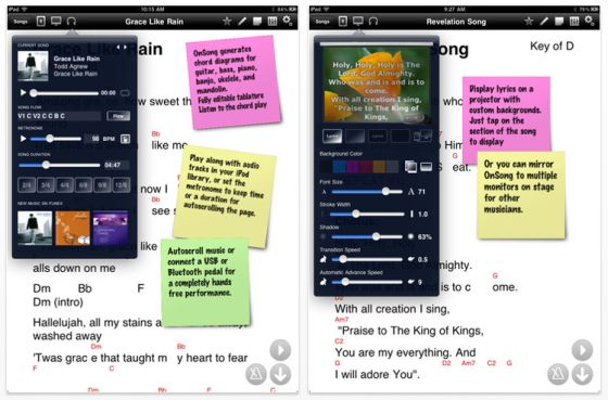 OnSong Screenshots