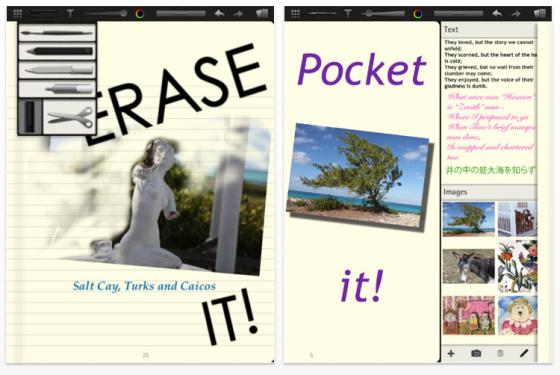 Moleskine Journal Screenshots
