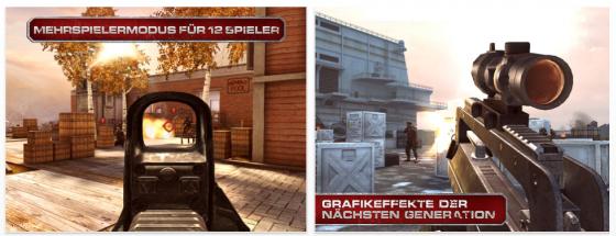 Modern Combat 3: Fallen Nation Screenshots