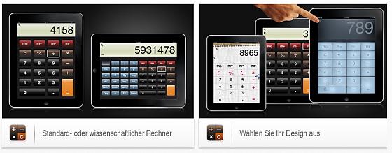 Taschenrechner Pro für das iPad - Screenshots