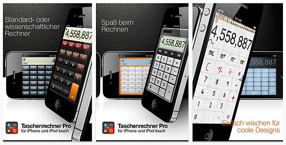 Taschenrechner Pro iPhone Screenshots
