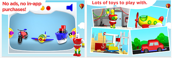 Build and Play 3D Screenshots
