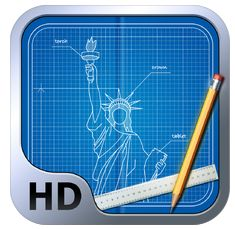 Blueprint 3D HD Icon
