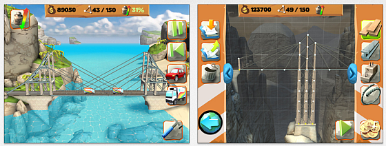 Bridge Constructor Playground iPad Screenshots