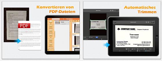 WorldScan HD für das iPad Screenshots