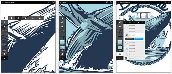 Adobe Ideas für iPhone und iPad