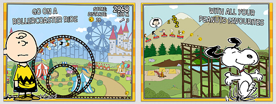 Snoopy Coaster Screenshots