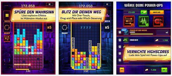 Tetris Blitz Screenshots