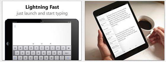In der erst kürzlich erschienenen iPad App Quick Drafts für iPad geht es darum, schnell und einfach Notizen zu erfassen.