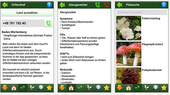 Vergiftung - Erste Hilfe für Kinder App Screenshots