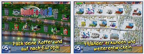 In Build-a-lot 3 erledigst Du in neuen europäischen Ländern auf Zeit zunehmend knifflige Aufgaben als Bauunternehmer