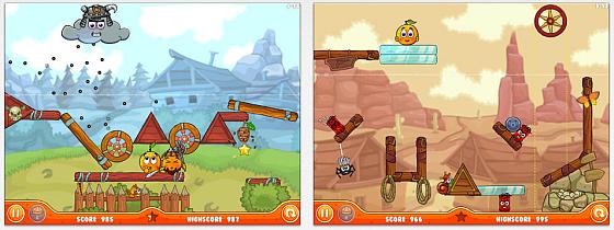 Cover Orange 2 präsentiert sich mit verbesserter Grafik und 160 neuen, zum Teil sehr kniffligen Aufgaben.