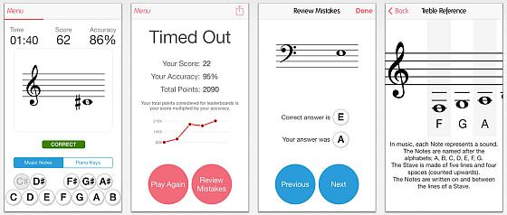 Mit dem Music Tutor erlernt man das Noten lesen spielerisch. Die App bringt alles dafür mit, dass man in kurzer Zeit alle Noten perfekt bestimmen kann.