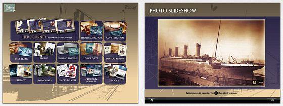 Mehr Wissen über die Titanic: In der App findet man viele, viele Fakten über die Titanic.