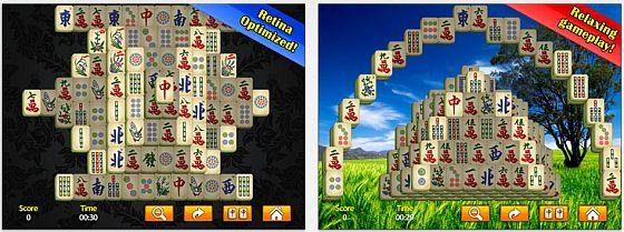 Mahjong mit 100 verschiedenen Spielfeldern und angenehmer Musik - das ist Mahjong HD für das iPad