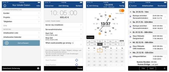 Qlaqs Timesheet Pro ist eine Zeiterfassungs-App, die auch den Ansprüchen professioneller Nutzer genügt. Der Spagat zwischen umfangreichen Funktionen und einfacher Bedienung ist gut gelungen.