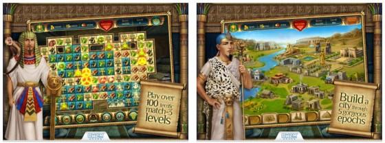 Cradle of Egypt ist eines dieser grafisch besonders hochwertig erstellten Match-3 Spiele, wie sie leider kaum noch neu herauskommen.