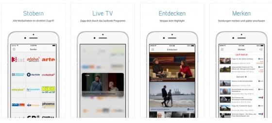 Die Mediatheken-App pavo kommt im elegant-schlanken Design und lässt sich ganz einfach bedienen.