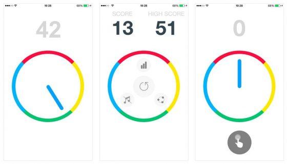 Einfaches Spielprinzip, klare Gestaltung: Impossible Dial