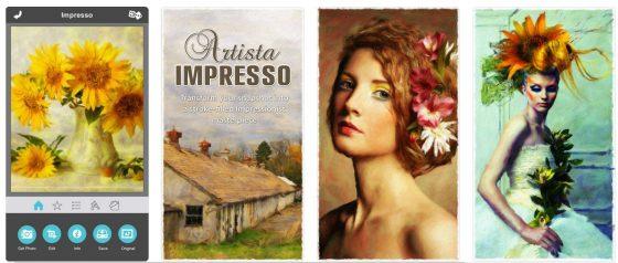 Artista IMpresso verwandelt gute Fotos von Menschen, Landschaften und Blumen oder auch Stilleben in impressionistische Gemälde.